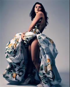 Кристал Ренн, фото 7. Crystal Renn French Vogue, foto 7